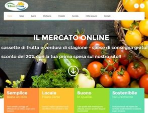 """e-Commerce e Sito Web """"Il Buon Fattore"""""""
