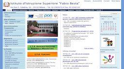 Sviluppo Software Software House A2 Consulting Istituto-Fabio-Besta-Sito-Istituzionale