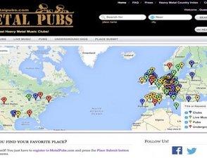 "Directory Geolocalizzata ""Metalpubs.com"""