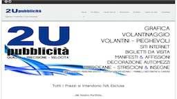 Sviluppo Software Software House A2 Consulting 2U-Pubblicita-Sito-Vetrina