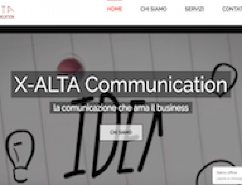 "Sito Web Vetrina ""X-Alta Communication"""