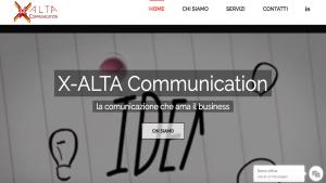 Realizzazione Sito Web Vetrina X-Alta Communication